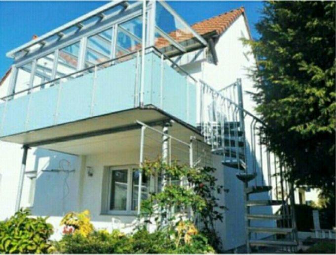 4 Zimmer 1OG Wohnung Wintergarten Granit , Parket, Fliesen, Klima u. Lüftung Rundum geschlosser Gar