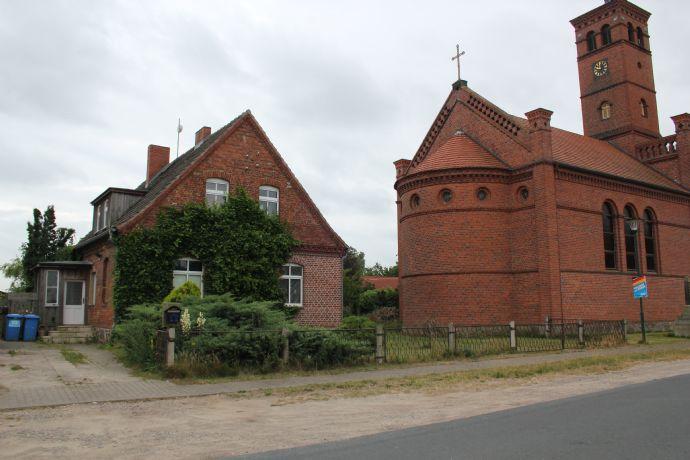 Alte Dorfschule mit fünf Zimmern + großer Diele in Ostprignitz-Ruppin (Kreis), Wittstock/Dosse