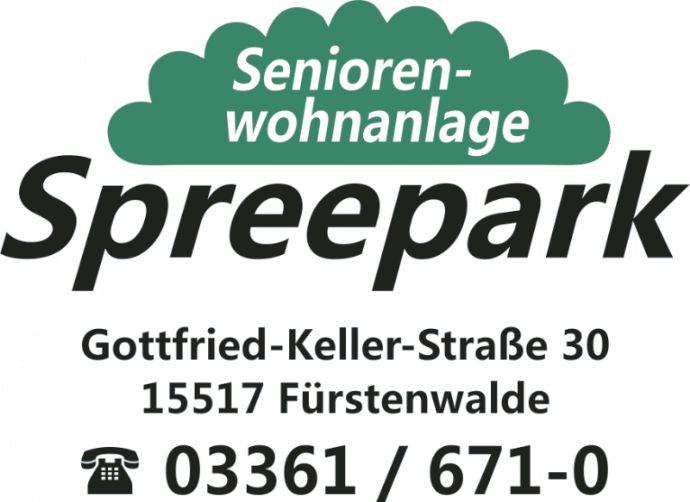 Betreutes Wohnen in der Seniorenwohnanlage Spreepark Fürstenwalde, 2-Raum-Whg mit Balkon