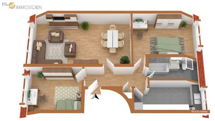 Frisch renovierte 3 Zimmerwohnung / Sehr gute Aufteilung!!