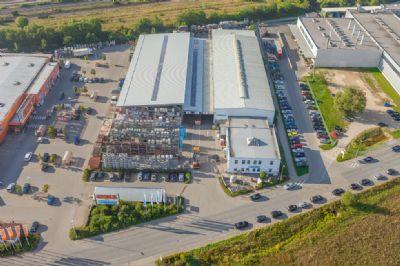 Gunzenhausen Industrieflächen, Lagerflächen, Produktionshalle, Serviceflächen