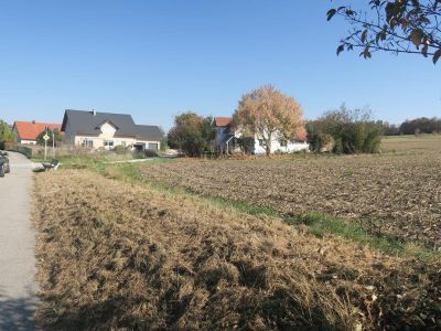 Baugrundstück - in herrlicher Ortsrandlage - nur ca. 15 Autominuten nördl. von Landshut