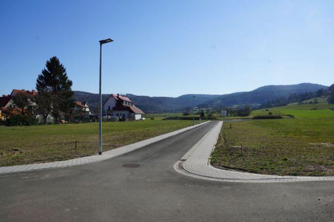 herrlich gelegenes Baugrundstück im neu erschlossenen Wohngebiet