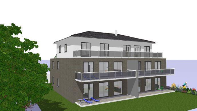 Ruhiges Wohnen in top Lage im EG rechts! Barrierefreie-Neubau-Wohnung in Porta Westfalica