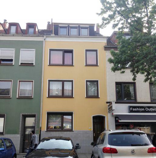 Frisch sanierte 2-Zimmer-Dachgeschosswohnung in HB-Findorff