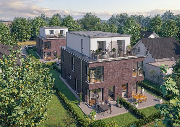 Neubau von 4 Architekten-Doppelhaushälften in bester Lage von Niendorf