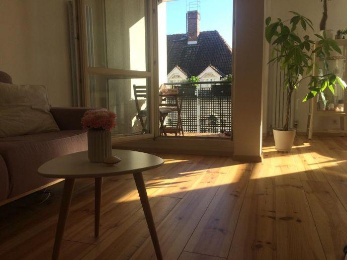 Berlin Weißensee - Schöne neuwertige 3-Zimmer-Wohnung mit Balkon und Einbauküche