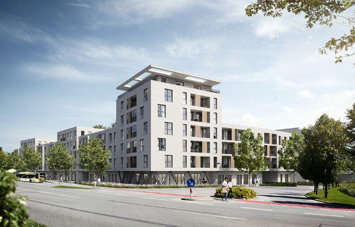 4-Zimmer-Penthouse-Wohnung im Johanniter-Quartier Gersthofen - pflegenahes