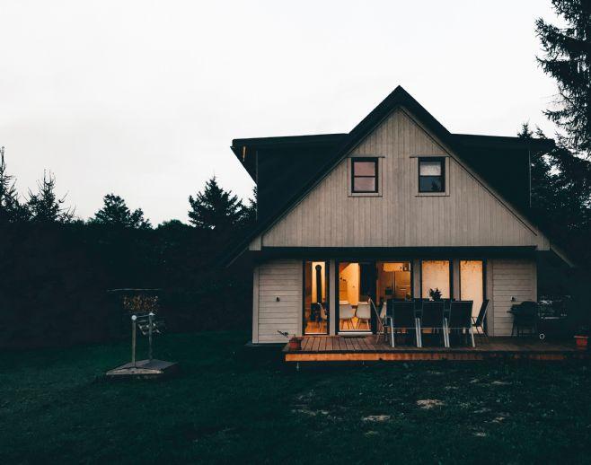 Freistehendes Einfamilienhaus für den Handwerker