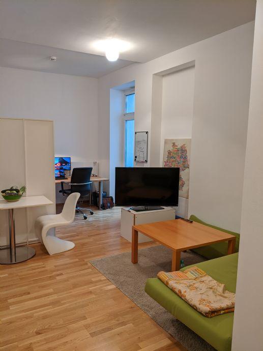 Aachen - Frankenberger Viertel: Helle, geräumige 1-Zimmerwohnung zur Untermiete