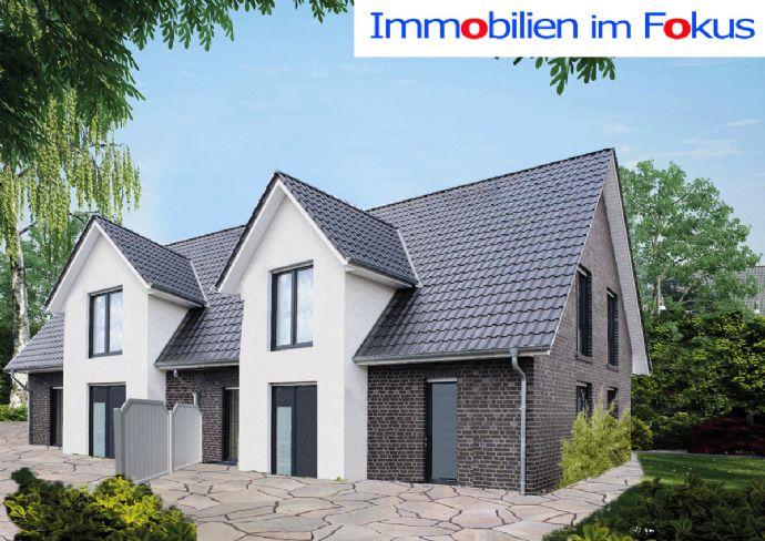 Meldorf - Familienhaus als Doppelhaus in schöner Wohnlage
