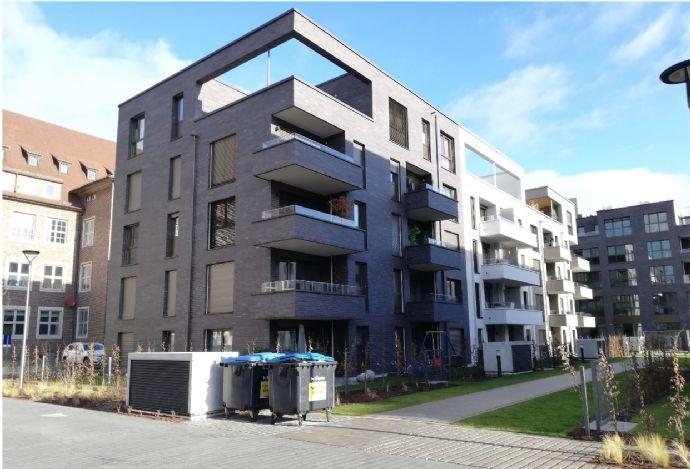 Schöne, moderne, neue 3 Zimmer Erdgeschosswohnung mit Terrasse und Garten - 3 Zi. in Erlangen Zentrum