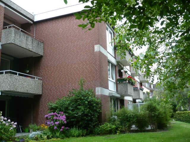 Große modernisierte 3 Zimmer Wohnung in Hamburg Wilstorf in ruhiger Grünlage