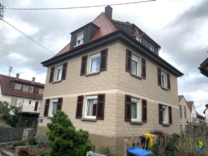 Stadtvilla mit 3 Wohneinheiten mit Garten und Garage *für Käufer Provisionsfrei*
