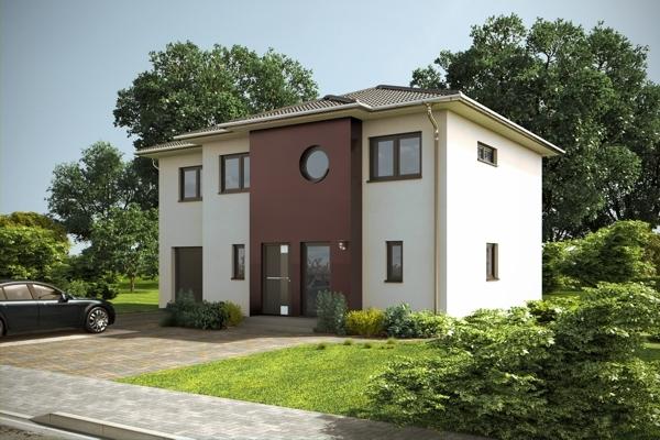 Neubauprojekt - Massivhaus KfW70. Schlüsselfertiges und individuell geplantes Architektenhaus.