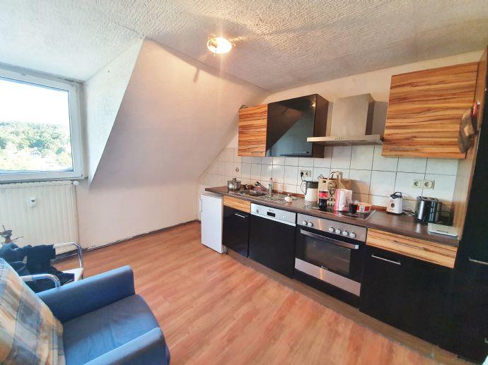 1 ZKB Dachgeschosswohnung in Saarbrücken-Jägersfreude