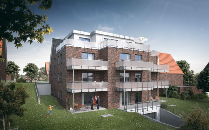 Neubauwohnung im Herzen von Stade - Jetzt 18.000 € staatl. Förderung sichern