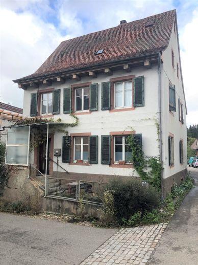 Handwerkerhaus im Stadtzentrum von Kandern