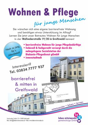 Greifswald Wohnungen, Greifswald Wohnung mieten