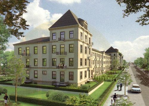 2 Zimmer Wohnung in Dresden (Albertstadt)