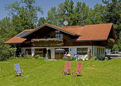 Finkenhof in Oberstaufen-Allgäu - Ferienhaus am Buindle - Viehweide * * * *