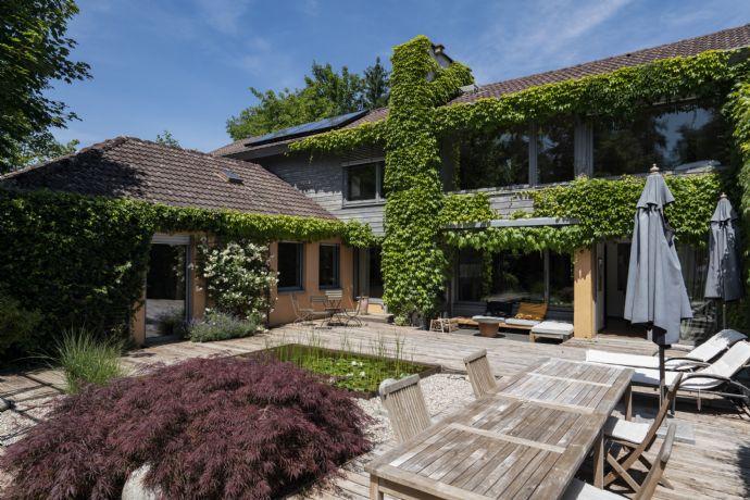 """Provisionsfrei ! Verkaufen ein sehr exklusives Einfamilienhaus in Top - Lage ( """"Goldberg !"""" ) von Grafing bei München !"""