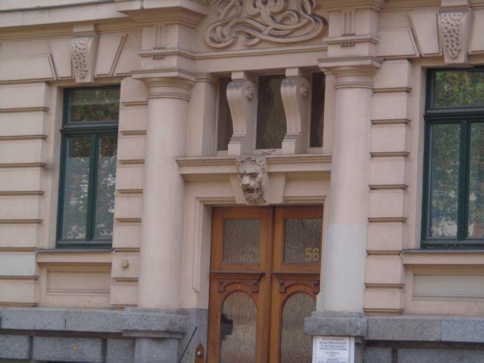 exkl. 5 Zimmerwohnung in der Südvorstadt Stuck,Parkett,Dielen,gr.Balkon,Erker,Wohnküche,Lift;GästeWC