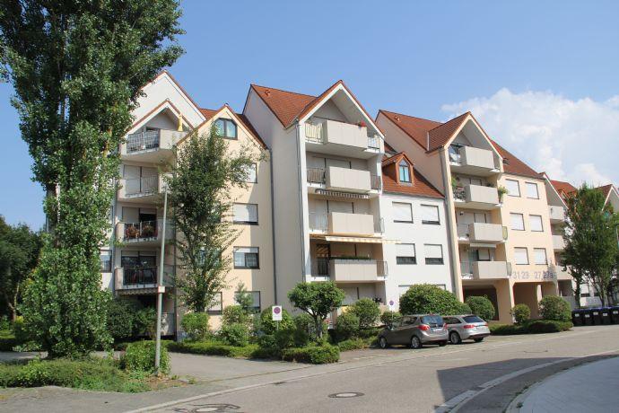 Dachstudio-Wohnung mit 102 m² und Tiefgarage