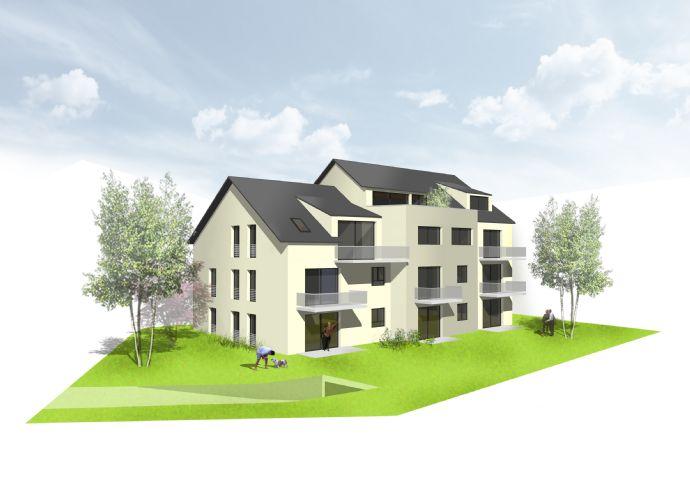 Neubau eines Mehrfamilienhauses mit nur 8 Wohneinheiten in sonniger u. stadtnaher Lage von Singen