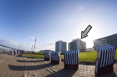 Ferienwohnung Qi im Kaiserhof auf Norderney | FengShui | Meer | Strand | Lift | Schwimmbad | Hund | WLAN