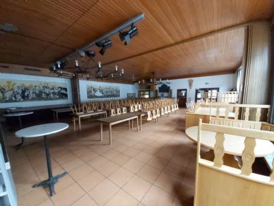 Wielenbach Halle, Wielenbach Hallenfläche