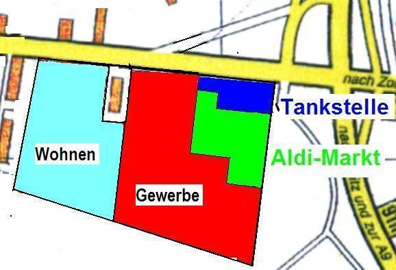 Wohnbaugrundstück in Bestlage von Weißenfels, für Bauträger geeignet