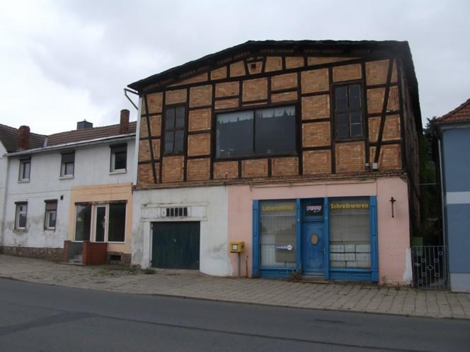 Wohn- u. Geschäftsgrundstück in Großörner zu verkaufen RESERVIERT