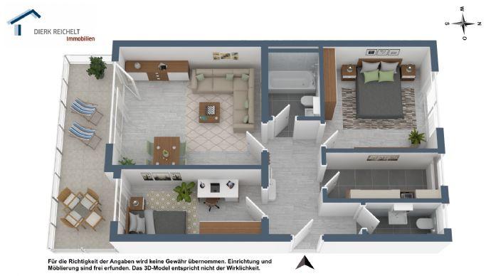 Sanierte 3-Zimmer-Eigentumswohnung in gehobener Wohngegend von Wiesbaden
