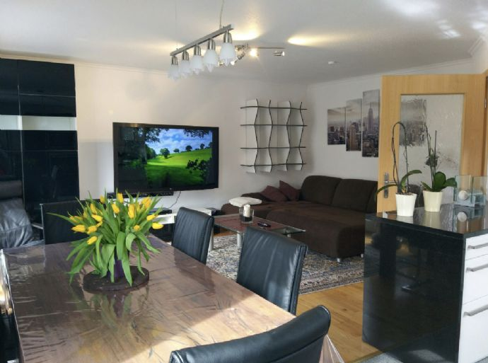 Beautiful penthouse in Munich East 110 sq.m., 4 rooms, with or without furniture + 96 sq.m. garden