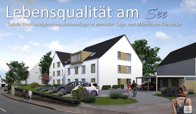 2-Zimmer-Wohnung - wenige Schritte zum Möhnesee