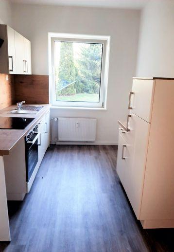 Markkleeberg: 2-Zimmer-Wohnung mit Tageslichtbad & neuer Einbauküche