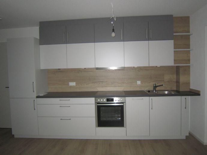 Neue 2-Zimmer-Wohnung mit Einbauküche und
