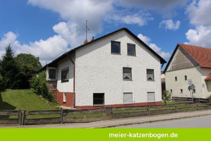 Grundstück mit Altbestand in Hitzhofen Ortsmitte