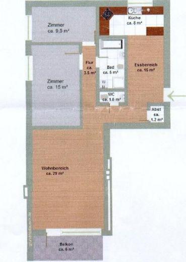 Ruhige 3 Zimmer Wohnung in Rissen Herwegredder frei ab 1.8.2020