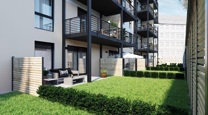 4-Zimmer Wohnung über 2 Etagen mit Garten