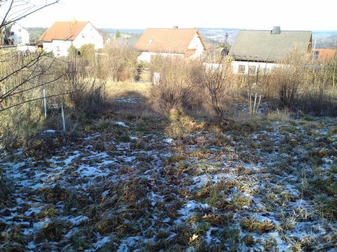 schön gelegenes Baugrundstück in Lichtenberg Hochfranken