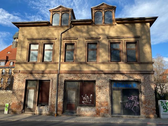 interessantes Wohn- und Geschäftshaus im Sanierungsgebiet von Weißenfels