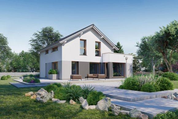 BEZUGSFERTIG Einfamilienhaus mit 175 mq auf Bodenplatte