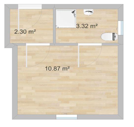 1-Zimmer Wohnung im Herzen von Ilmenau