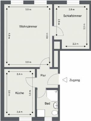 Nachterstedt Wohnungen, Nachterstedt Wohnung mieten