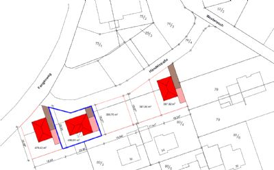 Baugrundstück im Herzen der Gemeinde Rhede (Ems)