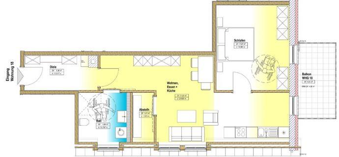 Wohnung zu kaufen in Zerf - A17504